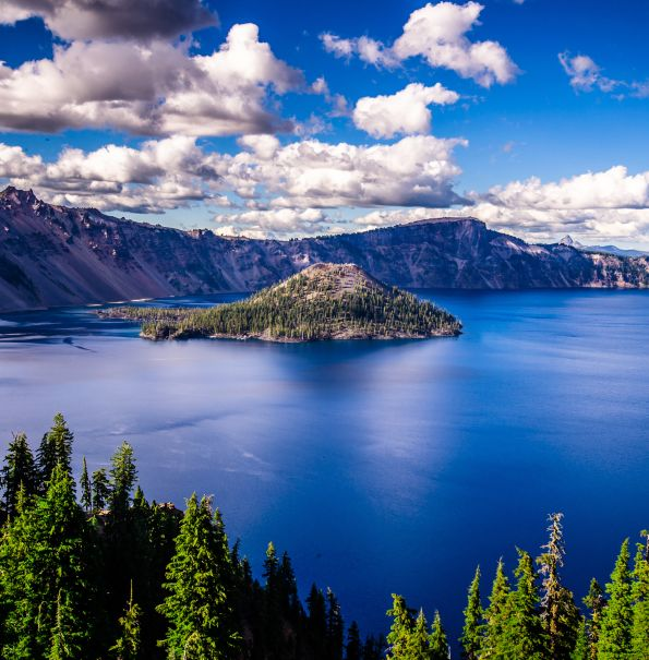 Crater Lake near Running Y