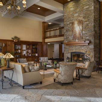 Lobby in the Lodge
